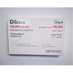 DIBASA VITAMIN D3 100000 IU /ML AMP