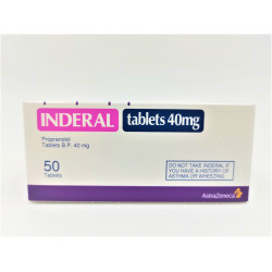 INDERAL  40 MG TABLETS