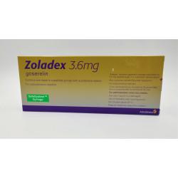 ZOLDEX 3.6 MG SYRING