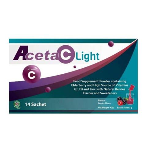 ACETA C LIGHT 14 SACHETS X 3GM