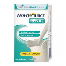 Novasource Renal Nutritional Supplement for Impaired Kidney Patients