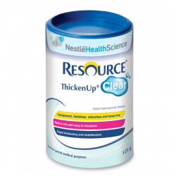 Resource Thicken up Clear for Patient With Dysphagia