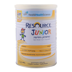 RESOURCE JUNIOR 400 GM POWDER