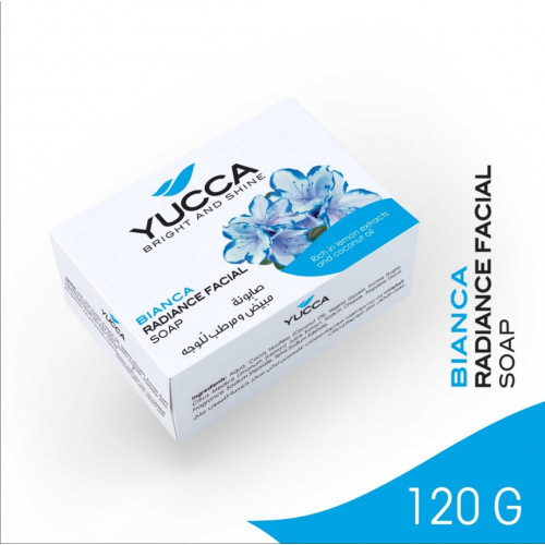 BIANCA RADIANCE SOAP 120GM YUCCA