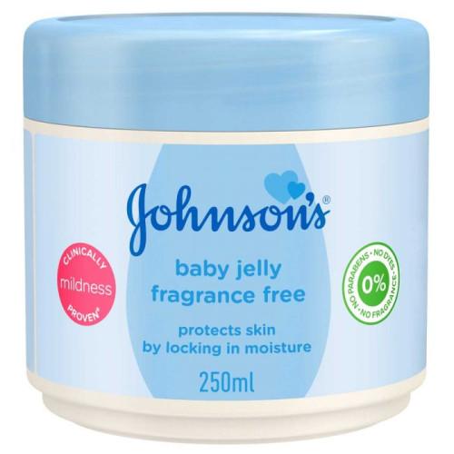 Johnson Vaseline For Kids Fragrance Free - 250Ml