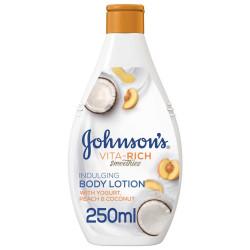 Johnson Vita Rich Coconut Milk Peach & Yogurt Body Lotion - 250 ml