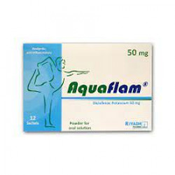 Aquaflam 50 mg 12 Sachets