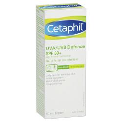 Cetaphil UVA/UVB Defense SPF 50+ Cream - 50 ml
