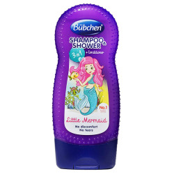 Bubchen Little Mermaid Baby Shampoo & Shower - 230 ml