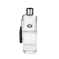 white nectarine &pear shower gel 500ml grace cole