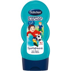 Bubchen Sports Friend Baby Shampoo & Shower - 230 ml