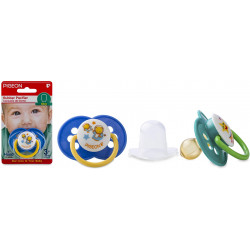 Baby Rubber Pacifier - Blue