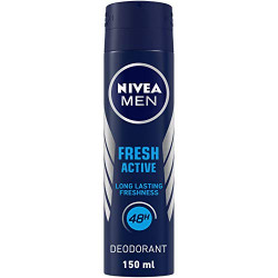 Nivea Deodorant Spray Fresh For Men - 150 Ml