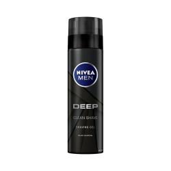 Deep Clean Black Carbon Shaving Gel - 200 Ml