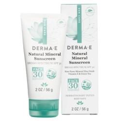 Natural Mineral Sunscreen Body &face Spf 30 Derma E
