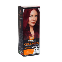 Collagen Pro Hair Color  6.66 - pomegranate red
