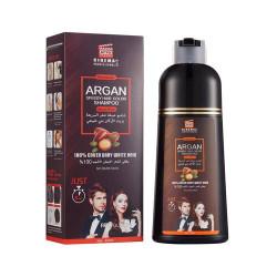 Collagen Pro Dye Shampoo Argan Oil Brown - 420 Ml
