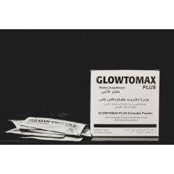 GLOWTOMAX COLLAGEN POWDER WITH GLUTATHIONE 15 SACHETS +  صابونة التفتيح مجانا