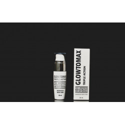 GLOWTOMAX TRIPLE ACTION CREAM 50 ML WITH GLUTATHIONE +  صابونة التفتيح مجانا