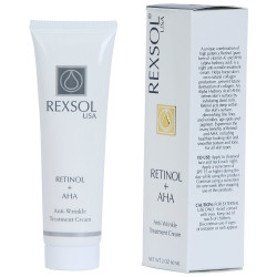 REXSOL RETINOL+AHA ANT-WRINKLE CRM 60