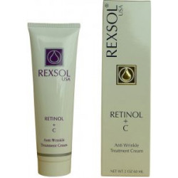 REXSOL RETINOL+C ANT-WRINKLE CRM 60
