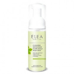 ELEA CLEANSING WATER FOAM FOR OILY AND MIXED SKIN SOLUTION 165 ML